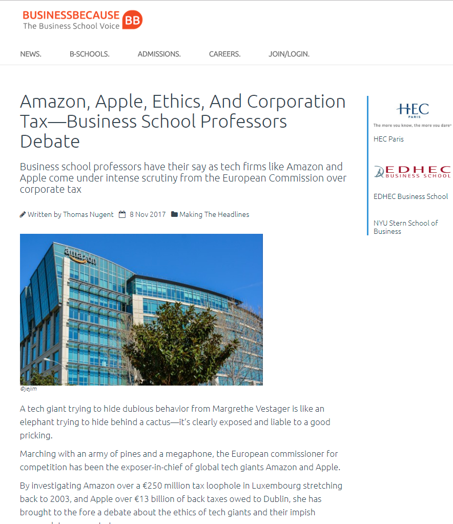 https://www.businessbecause.com/news/making-the-headlines/4892/amazon-apple-ethics-corporation-tax-business-school-professors-debate