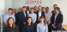 EDHEC PhD in Finance Class Profile