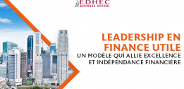 L'Association EDHEC Business School et sa Fondation annoncent la signature d'un accord de cession de 93% du capital  de Scientific Beta à Singapore Exchange Ltd