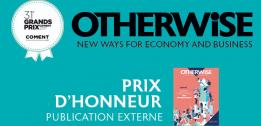 EDHEC Business School remporte un Prix d'Honneur chez Communication & Entreprise pour OTHERWISE, The EDHEC Business magazine