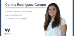 WINFIN INTERVIEWS Camila Rodríguez-Campo, Senior Director of Finance and Compliance at Waxman Strategies