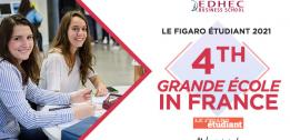 EDHEC ranked 4th Grande Ecole by Le Figaro