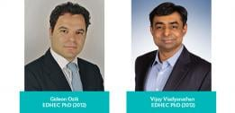 EDHEC PhD alumni, Gideon Ozik and Vijay Vaidyanathan, contributors for MOOCs offered by EDHEC Business School and Coursera
