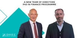 EDHEC PhD in Finance Programme: A new team of directors