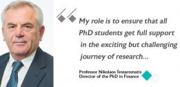 Professor Nikolaos Tessaromatis named Director of the EDHEC PhD in Finance Programme