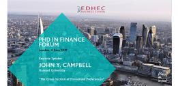 Upcoming EDHEC PhD in Finance Forum