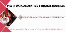 MSc in Data Analytics & Digital Business: a new master designed to bridge the gap between data specialists and decision makers