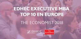 L'EDHEC Executive MBA dans le Top 10 en Europe selon le classement de The Economist