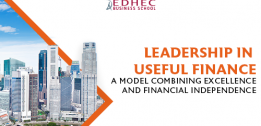 The EDHEC Business School Association and its Foundation announce the signature of an agreement for the sale of a 93% interest in Scientific Beta to Singapore Exchange Ltd.