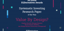 BERND SCHERER: BEST SYSTEMATIC INVESTING RESEARCH PAPER OF THE YEAR
