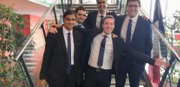 EDHEC Financial Economics students in top 3 at French CFA Institute Research Challenge