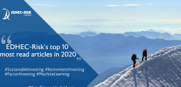 What were EDHEC-risk's top 10 most read articles in 2020?