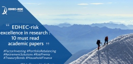 EDHEC-Risk excellence in investment management research: 10 must-read academic papers