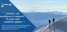 EDHEC-RISK EXCELLENCE IN INVESTMENT MANAGEMENT RESEARCH: 15 MUST-READ ACADEMIC PAPERS