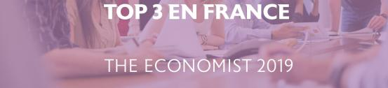 Le Global MBA de l'EDHEC confirme sa place sur le podium de The Economist