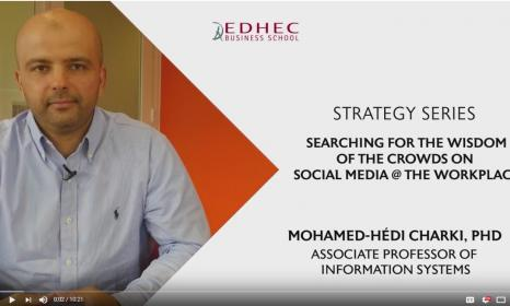 Strategy Series #2 Searching for the Wisdom of the Crowds on Social Media @ the Workplace